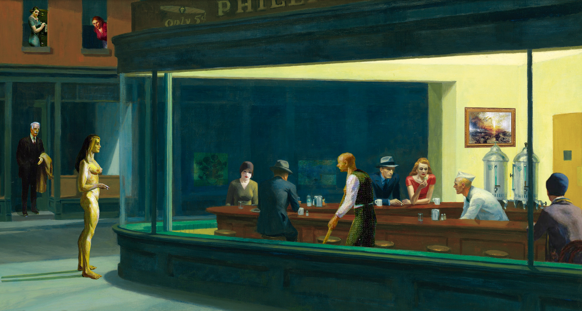 Top Parody Nighthawks At The Wallpapers
